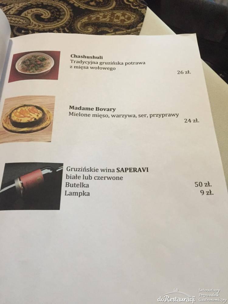 Restauracja Gruzińska Batumi